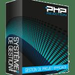 PHPReaction - Application Web - Système de Gestion d'entreprise - Boitier - Gestion de Projet