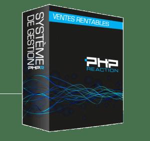 PHPReaction - Application Web - Système de Gestion d'entreprise - Boitier - Ventes rentables