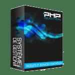 PHPReaction - Application Web - Système de Gestion d'entreprise - Boitier - Produits et services contrôlés