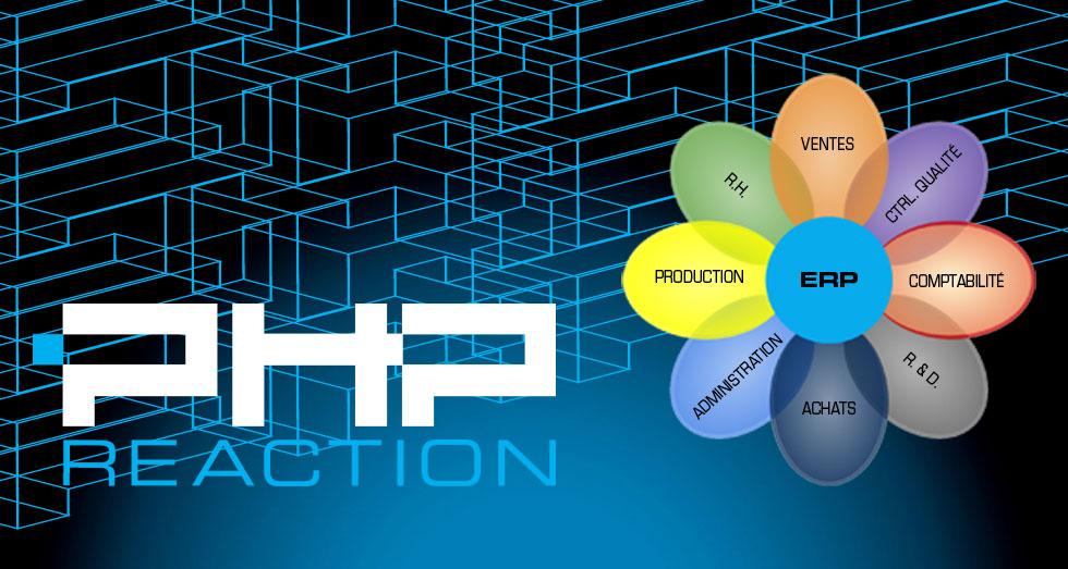 PHPReaction - Application Web - Système de Gestion d'entreprise - Unir les forces
