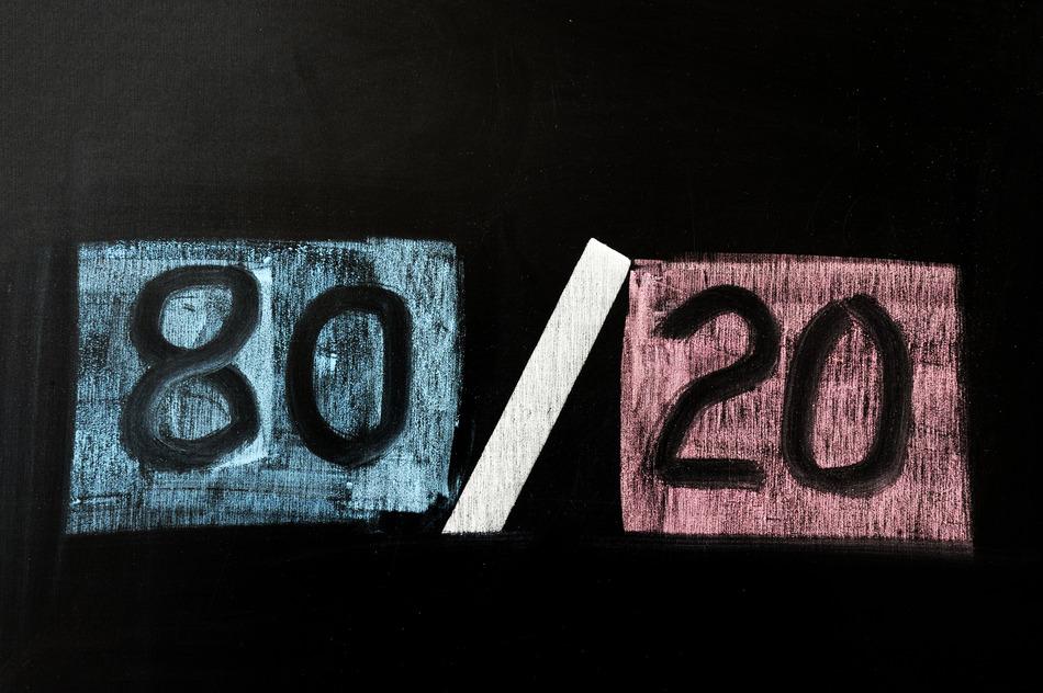Loi 80-20 Pareto